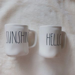 Rae Dunn hello sunshine mug lot